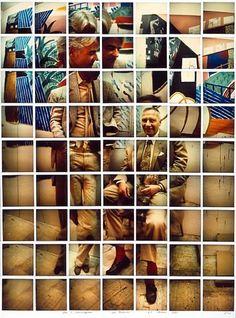 David Hockney's Cubist photography Robert Rauschenberg, Edward Hopper, A Level Photography, Art Photography, Distortion Photography, Experimental Photography, Street Photography, Photomontage, David Hockney Collage
