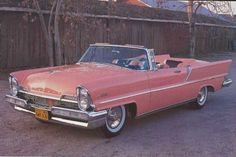 1957 Lincoln Premiere. I just love those lines.