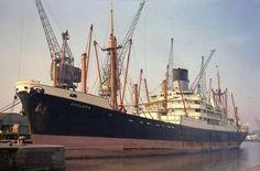Cyclops. Acknowledgment Kevin Radford. Abandoned Ships, Merchant Navy, Motor Boats, Sailing Ships, Cyclops, Steamers, Seas, Blue, Boats