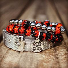 Rustic Cuff- Tailgate Black/Orange – Rustic Cuff