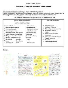 Readers Workshop -Mini Lesson