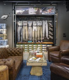 Emerald Water Anglers store by Blackmouth Design, Seattle – Washington