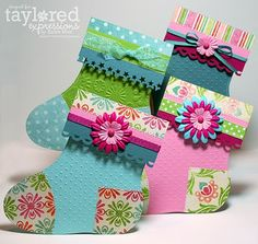 Stocking gift card holder template here:  http://www.splitcoaststampers.com/forums/15093504-post1.html