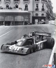 Monaco 1976 Patrick Depailler and his Tyrrell P34