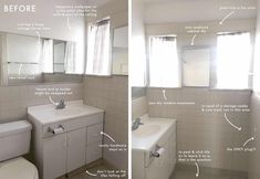 Ask The Audience: Help Julie Design A Quick And Colorful Rental Bathroom Refresh - Emily Henderson #homedesign #interiors #beforeandafter