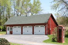 A Sheds Unlimited THREE CAR GARAGE with Attic Space. #13408 24x36 ...