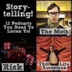 Here are world-renowned podcasts to learn the art of storytelling from the masters!