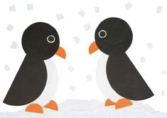 Penguin from circles – Knippen Animal Crafts For Kids, Paper Crafts For Kids, Art For Kids, Winter Kids, Winter Art, Paper Crafts Magazine, Circle Crafts, Shapes For Kids, Penguin Craft
