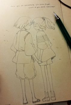Doodled this while revisiting old Ghibli movies. AAAHH MY CHILDHOOD it's all coming back to me nowლ(இ◡இლ)