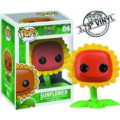 Plants Vs Zombies Pop Vinyl Figure Funko: Sunflower for sale online Plants Vs Zombies, Vinyl Figures, Action Figures, Funko Figures, P Vs Z, Funko Pop Dolls, Funko Toys, Plant Zombie, Pop Figurine