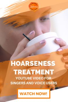 How to treat your voice when it gets hoarse. Learn how to get rid of hoarseness as fast as you can. Watch this video now. Vocal Lessons, Singing Lessons, Singing Tips, Music Lessons, Hoarse Voice Remedy, Vocal Warm Up Exercises, Vocal Warmups, Learn Singing, Music Education