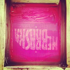 Screen Printers View // Welcome to the Good Life