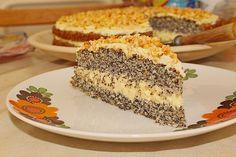 Illes super schneller Mohnkuchen ohne Boden mit Paradiescreme und Haselnusskrokant, ein sehr schönes Rezept aus der Kategorie Torten. Bewertungen: 291. Durchschnitt: Ø 4,6.