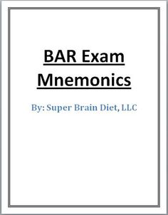 6 Bar Exam Memory Tips to Dominate the Essays - Improve Memory and Increase Brain Power with Food Study Help, Study Tips, Exam Motivation, College Problems, Exams Tips, Law School, College School, College Life, Attorney At Law