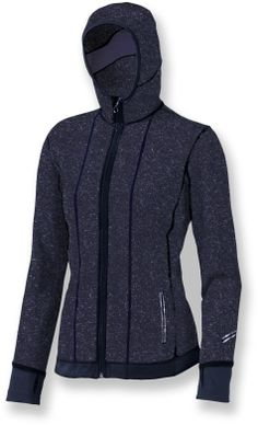 The Brooks Utopia Thermal? Hoodie II packs style and warmth into a versatile layering piece. #REIGifts