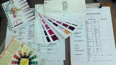 Análise de Consultoria de Imagem visagismo e coloração pessoal.