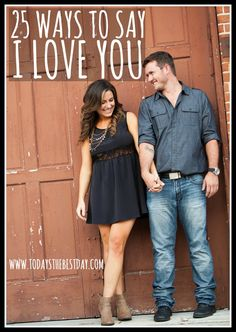 25 of the most creative and thoughtful ways to say I LOVE YOU! Whether you are saying it for the first time or have been married for 50 years - these are perfect! Everyone needs this to liven up their i love yous Marriage Relationship, Happy Marriage, Relationships Love, Marriage Advice, Love And Marriage, Love Of My Life, My Love, Love Dating, Say I Love You