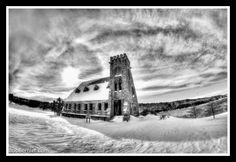 DAY #93- WINTER AT THE OLD STONE CHURCH