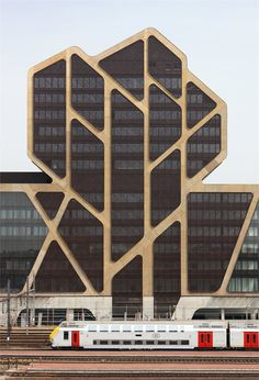 Hasselt Court of Justice by J. Mayer H. Architects, Belgium