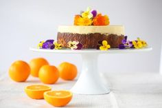 Let there be cake! Yes I thought it was high time to share another glorious cake with you. This one's a little bit special too, and quite different to my other cake recipes on the blog. This gorgeous Orange, Almond and Coconut Cake is ...
