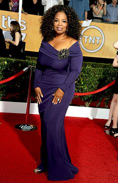 Oprah Winfrey Photo - SAG Awards 2014 Red Carpet Photos: What the . Purple Gowns, Purple Dress, Oprah Winfrey, Celebrity Couples, Celebrity Style, Sag Awards, Beautiful Black Women, Beautiful People, Portraits