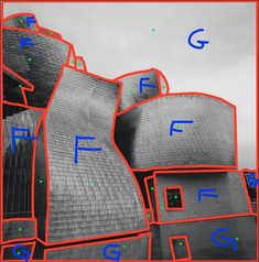 """Determining the """"Figure"""" the """"Ground"""" and associated """"Selections"""". Here I have 25 selections (green dots) to add gradients in varous difrections to create depth.  F is the Figure (subject) and G is the Ground that you want to de-contrast to blend in the background.  Final image tomorrow as I determine the play with light giving my eyes a refresh.  #BWvision #fineartphotography #artphotography #fineart #contemporaryphotography #blackandwhite #BW #BNW #BNWphotography #BNW_city… Contemporary Photography, Urban Photography, Fine Art Photography, Green Dot, My Eyes, Contrast, Give It To Me, Dots, Play"""
