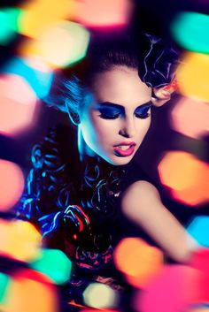 LIGHTS/ PORTRAITS by Simona Smrckova, via Behance