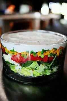 Layerd salad