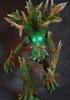Rothand Studio: Primeval Treeman painted by Azgaroth