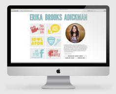Erika Brooks Adickman By Hrrrthrrr Blog Planning Web Project Portfolio Site Love