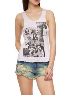 3fe8dd855a2 Graphic Racerback Tank Top with Gorgeous Print. Rainbow ShopRacerback ...