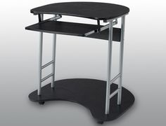 LPD Flat Packed Cargo Black Computer Desk - Father's Day gift