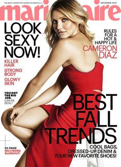 Presenting ... Cameron Diaz, our November cover girl!
