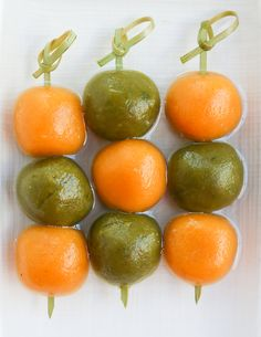 Pumpkin & Green Tea Dango | Thirsty for Tea