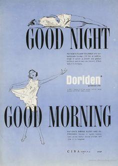 Doriden... Good Night, Good Morning...
