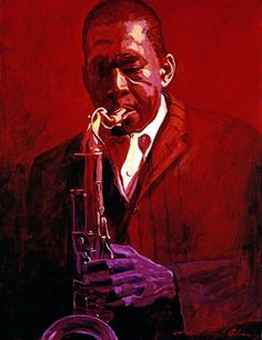 "David Lloyd Glover, ""John Coltrane"" - Many of Hollywood's A-list celebrities and recording stars are among his top collectors. Description from pinterest.com. I searched for this on bing.com/images"