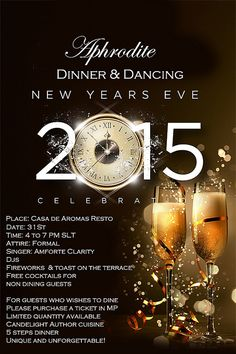 New Year Eve Dinner invite | Flickr - Photo Sharing!