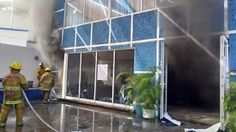 #Oaxaca #Noticias: Irrumpen y queman oficinas del PAN para invalidar ...