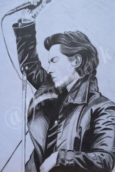 Monkey Drawing, The Last Shadow Puppets, Alex Turner, Arctic Monkeys, Pencil Portrait, Wall Décor, Poster Wall, Amazing Art, Hand Drawn