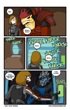 Ah yes, the doors... this happened to me in ME1 with all three of my Shepards... all the time  #MassEffect #Humor