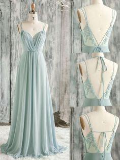Green Evening Dress, Chiffon Evening Dresses, Mint Green Dress, Chiffon Dress Long, Dress Lace, Mint Green Wedding Dress, Long Green Skirt, Dress Bra, Evening Dresses For Weddings