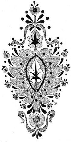 Pattern Coloring Pages, Embroidery Motifs, Parrot Bird, Sketch Design, Textile Prints, Tattoo Inspiration, Line Art, Folk Art, Needlework