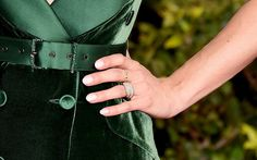 Zoom In on the Chicest Manicures From the Red Carpet: Sure, we love ogling celebrity jewelry bling, but when it comes to award shows, all that glitters in our eyes are the manicures.