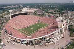 "Old Tampa Stadium, ""The Big Sombrero""...old home of the Tampa Bay Buccaneers and the Tampa Bay Rowdies"
