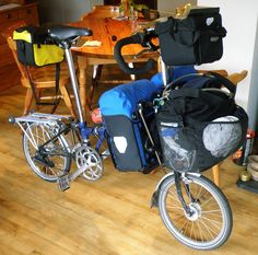 16 speed Bromptons: Part 5 – ready for action Fat Bike, Velo Brompton, Bike Friday, Bicycle Pictures, Powered Bicycle, Folding Bicycle, Bike Bag, Cargo Bike, Touring Bike