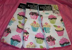 Amazon.com - 3 Heavy Microfiber Cupcake Dish Towel