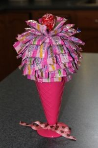 ice cream candy display