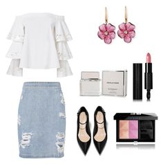 """""""Summer office day"""" by nelly-8116 on Polyvore featuring мода, Exclusive for Intermix, IRO, Rina Limor и Givenchy"""