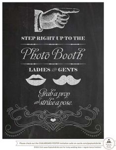 Free Printables | Poptastic Bride | Funky Wedding Ideas for Cool Couples