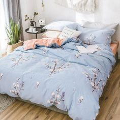 Beautiful duvet cover makes your beautiful bedroom. - March 05 2019 at Cozy Bedroom, Bedroom Bed, Home Decor Bedroom, Modern Bedroom, Bedroom Comforters, Bedroom Ideas, Bedroom Apartment, Girls Bedroom, Bedroom Furniture